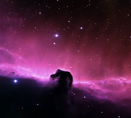 Horse Head Nebula Background
